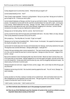 mice and men belonging extract Check out our top free essays on of mice and men belonging to help you write your own essay.