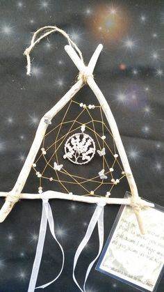Rose Quartz Tree of Life Dreamcatcher / wall by DreamsinDriftwood, £12.00