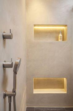 Fugenloses Bad mit Beton Cirè: Modern Badezimmer von Einwandfrei - innovative Malerarbeiten oHG