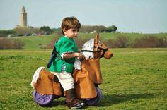 Epona , caballo disfraz