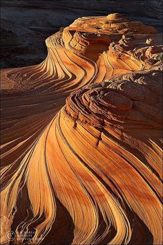 Ribbons in the earth-Arizona.