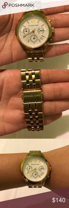 Michael Kors Gold watch 100% authentic Michael Kors Gold watch Michael Kors Accessories Watches