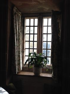Window Lindisfarne Castle Northumberland UK TD15 2SH 7/9/16 Designed by Edwin Lutyens .