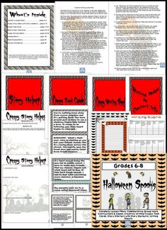 Creative Writing with Halloween Prompts