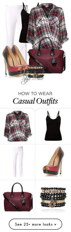 """""""Casual"""" by alice-fortuna on Polyvore featuring Michael Kors, River Island, MICHAEL Michael Kors, Dorothy Perkins and Samantha Wills"""