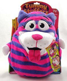 Tummy Stuffers - Pink Striped Cat