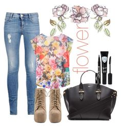 """""""flower"""" by katarinaax ❤ liked on Polyvore"""