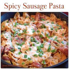 One Pot Wonder - Spicy Sausage Pasta