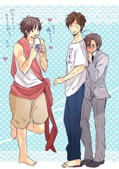 This is so cute *3* but why is romano so short XD. Him and spain are like, almost the same size in cannon