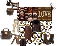 """Chocolate"" by noseforfreedom ❤ liked on Polyvore"