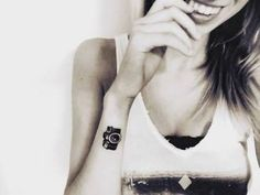 Images for photo camera tattoo for women - Tattoos