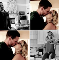 #Olicity in #Arrow #Season4