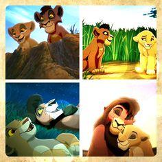 Kovu and kiara momentos así solo contigo Bernardo Basso Te amo Best Disney Movies, Disney Films, Disney And Dreamworks, Disney Cartoons, Disney Pixar, Disney Characters, Lion King 3, Lion King Movie, Disney Lion King