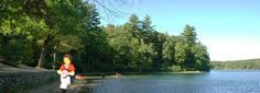 #ridecolorfully around Walden Pond
