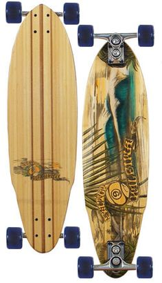 Sector 9 Haleiwa Longboard Skateboard - Blue.  This is really my board!!  Sweet, smooth ride