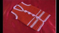 Vesta crosetata dintr-o singura bucata, tutorial pas cu pas - YouTube Crochet Bikini, Crochet Top, Crochet For Kids, Baby Dress, Crochet Patterns, Crochet Dresses, Youtube, Brother, Girls