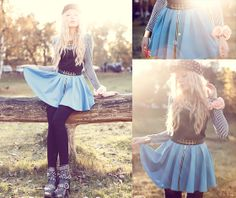 The skirt is my favorite. (by+Lina+Tesch)+http://lookbook.nu/look/4183802-if-you-are-brave-enough-you-can-try-to-steal-my-heart