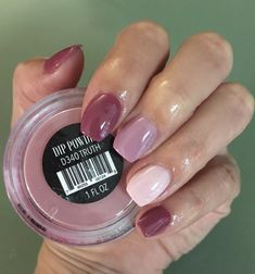 Truth French Ombre Nails with Gold Glitter; PiPture pOlish Bardot Sweet Color Nail Polish Nude Pink Varnish Polish Nail Art Manicure 40 glitter gel nail designs for short nails for spring 2019 page 3 Revel Nail Dip Powder, Powder Nails, Powder Pink, Natural Looking Nails, Natural Nails, Gel Nails At Home, Diy Nails, Wedding Nail Polish, Mauve Nails