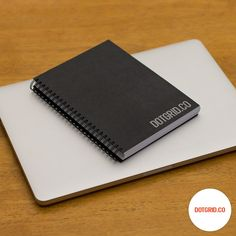 Dotgrid.co | Dot grid books for designers / Dot Grid Book (A5, Black)