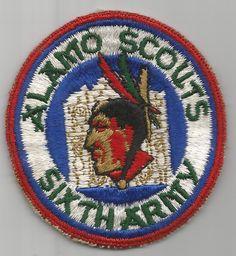 WW 2 US Army 6th Army Alamo Scouts Patch Inv# G409
