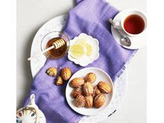 Macaron king #AdrianoZumbo has come up with this recipe for honey and lavender madeleines, perfect with a cup of tea in the afternoon #madeleines #tea #honey #lavender