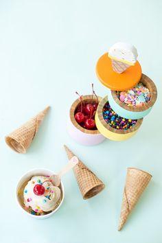 DIY Ice Cream Caddy