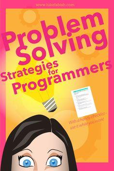 Problem Solving Skills: 5 Strategies for Any Programmer Basic Computer Programming, Learn Computer Coding, Python Programming, Data Science, Computer Science, Coding For Beginners, Computer Problems, Programming Tutorial, Digital Technology