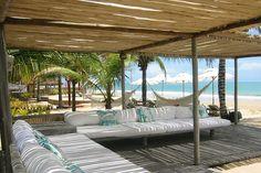 Me encantaría estar ahí AHORA. Villas de Trancoso, Brasil.