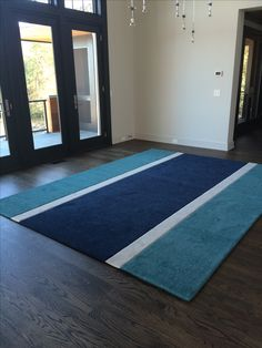 Custom Inlaid & Beveled Area Rug