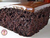 Bolo de Chocolate Fofinho e Escurinho!