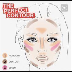 18 Easy To Do Basic Contour Makeup Tutor. - 18 Easy To Do Basic Contour Makeup Tutorials - Makeup 101, Makeup Guide, Makeup Tricks, Free Makeup, Makeup Tutorials, Easy Makeup, Makeup Products, Makeup Ideas, Makeup Goals