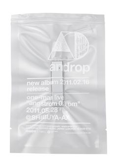 """androp """"official promotional items"""" by Tanaka Norio, via Behance"""