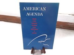 American Agenda Report To The Forty First President PB Gerald Ford Jimmy Carter