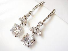 Cerchia Vintage Style Swarovski Crystal Cherry Earrings · Romantic Brides · Online Store Powered by Storenvy