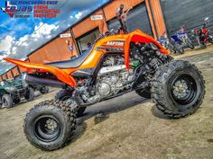 New 2017 Yamaha Raptor 700 ATVs For Sale in Texas. 2017 Yamaha Raptor 700, Tejas Motorsports in Texas offers great prices, excellent financing and low payments.  2017 Yamaha Raptor 700 EYE-POSSING PERFORMANCE, VALUE The Raptor 700 offers true pure sport ATV performance at an unbeatable price. Features may include: Aggressive Style Aggressive styling makes the Raptor 700 look as menacing as it really is. The mighty Raptor 700 is ready to go whether the destination is the dunes, the trails or…
