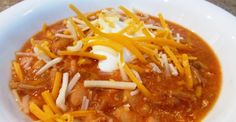 Easy Crock Pot White Pheasant Chili. So good that I'm doubling the recipe the next time I make it!