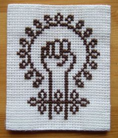 feminism by Cross-stitch ninja, via Flickr