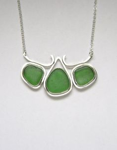 Hey, I found this really awesome Etsy listing at https://www.etsy.com/listing/210682055/sea-glass-jewelry-sterling-triple-green