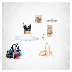 """""""Ballet"""" by jessicamck-13 ❤ liked on Polyvore featuring Casetify, Tory Burch, Glamorous, Kate Marie, NIKE, women's clothing, women, female, woman and misses"""