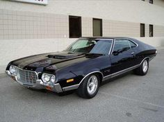 Gran Torino '72' - you can only be a villain in this car