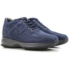 Hogan Shoes and Sneakers from the Latest Collection. Hogan Women's Shoes are available online in a wide selection at the Raffaello Network Store. H Logos, Fashion Details, Fashion Design, Winter Sale, Suits You, Suede Leather, Lace Up, Sneakers, Italy