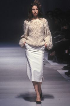 balenciaga fall 1999