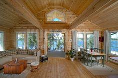 casa de madera Kuusamo Log Houses kU82