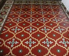 Kansas City, MO Savoy Hotel tile floor | Flickr - Photo Sharing!