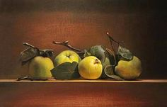 Painting: Still life with quinces