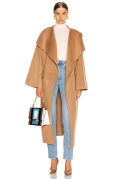 Shop for Toteme Annecy Coat in Camel at FWRD. High Fashion Outfits, Look Fashion, Autumn Fashion, Casual Outfits, Womens Fashion, Fashion Ideas, Milan Fashion Weeks, Paris Fashion, Fashion Lookbook