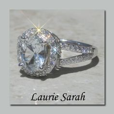 Maybe a white sapphire ring for engagement? It is SO MUCH cheaper, and you can't tell the difference.