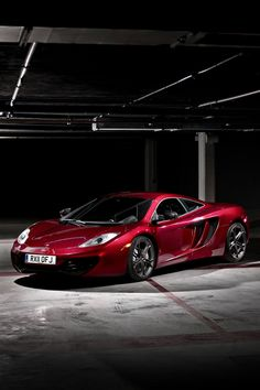 Mclaren MP4-12C - I wonder if this comes in purple??