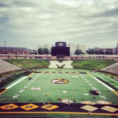 Our new field! Cannot wait for our first season in the SEC!