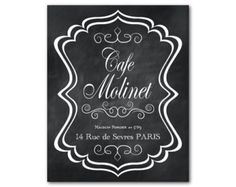 Image result for paris cafe signs